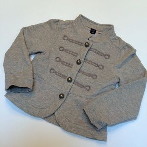 HP🎉 Baby Gap Grey Sgt. Pepper Style Jacket Size 3